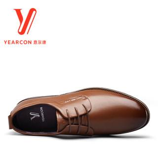 YEARCON 意尔康 7532ZE62341W 男士尖头英伦皮鞋