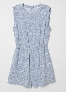 H&M HM0633109 女士修身松紧腰无袖连身短裤