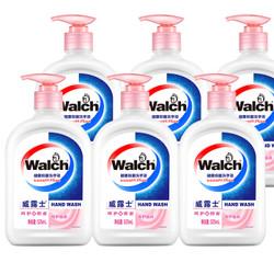 威露士倍护滋润健康抑菌洗手液525ml*6瓶装家用抵御干燥易冲水 *2件