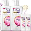CLEAR 清扬 去屑洗发水套装 (多效水润型720gx2 送多效水润100gx2 ) 97.5元