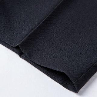 G2000 00051021 男士简约休闲西裤 (33/175、黑色 99)
