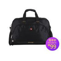 OIWAS 爱华仕 旅行袋 手提旅行包男女 休闲行李袋短途旅游包大容量 7003黑色