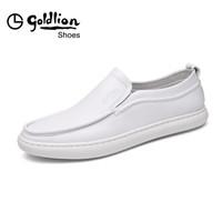 goldlion 金利来 559820393BQB 男士户外套脚休闲鞋 白色 43