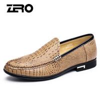 ZERO F5220 男士套脚休闲皮鞋