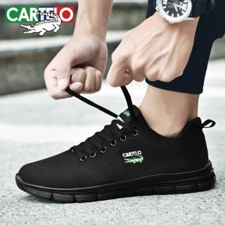 CARTELO KDL889 男士透气网面板鞋