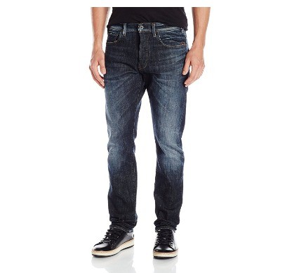 G-STAR revend 男士直筒牛仔裤