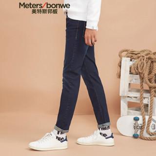 Meters bonwe 美特斯邦威 602050 男士牛仔裤 原色 165/72A