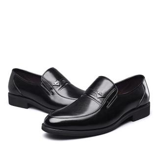 YEARCON 意尔康 7101ZR97929W 男士商务正装皮鞋 黑色 41