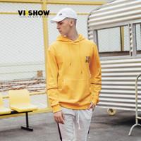 viishow 威秀 WD1087181 男士套头连帽卫衣 黄色 XL