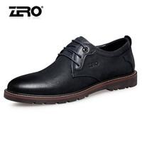 ZERO 63H006 男士户外休闲皮鞋 暗蓝 44