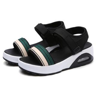 CARTELO KDLJZTA1802 女士松糕底凉鞋 绿色 39