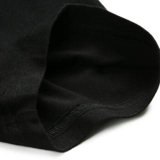 Markless TXA7662M 男士圆领短袖T恤 黑色 L