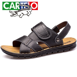 CARTELO L002 男士休闲凉鞋 黑色 44