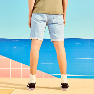 A21 4821023015 男士牛仔短裤