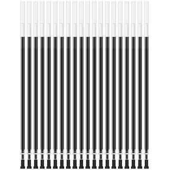 deli 得力 A700 中性笔芯 (黑色、13--24支、0.35mm)