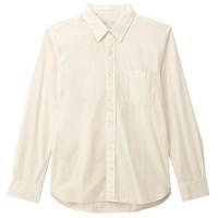MUJI 无印良品 16AC722 男士水洗棉平纹衬衫