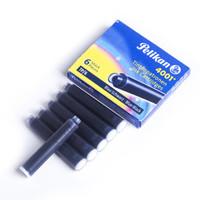 Pelikan 百利金 4001 短墨水胆 (蓝黑色、6只)
