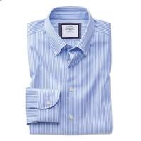 CHARLES TYRWHITT 男士修身免烫条纹衬衫