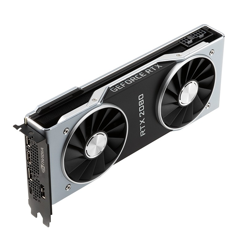 NVIDIA 英伟达 GeForce RTX 2080 Founders Edition 显卡(1515-1800MHz)