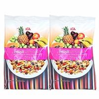 ICA 麦片 45%混合水果 750g*2袋