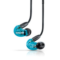 Shure 舒尔 SE215SPE 入耳式耳机 蓝色
