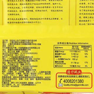 湾仔码头 燕麦蜂蜜馒头 (10只 300g)
