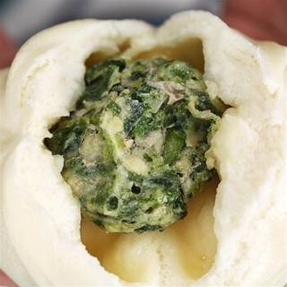 湾仔码头 荠菜鲜肉大包 (6只 390g)