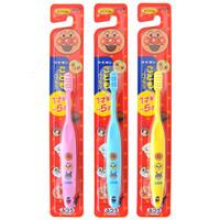 LION 狮王 面包超人 儿童牙刷 1.5-5岁 *3件