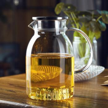 洁雅杰 耐热玻璃泡茶壶 ( 1.8L    )