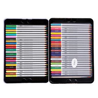 deli 得力 6523 水溶性彩色铅笔 48色