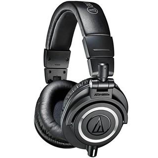 Audio-Technica 铁三角 ATH-M50x 头戴式耳机 黑色