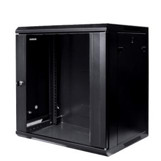 图腾(TOTEN)W2.6412 挂墙柜 网络机柜 可落地机柜 12U机柜 黑色