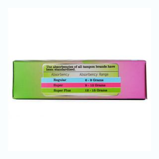 Tmaxx 体美丝 紧凑型导管式卫生棉条 无香型  5支混合装(2支普通型+2支量大型+1支超大型)