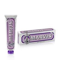 京东PLUS会员: MARVIS 玛尔斯 清香紫色茉莉薄荷牙膏 85ml *4件