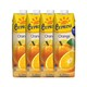 地中海塞浦路斯进口 塞浦丽娜(Cyprina)橙汁100%纯果汁 1L*4瓶 果汁饮料 整箱 *2件 49.47元(合24.74元/件)