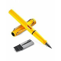 LAMY 凌美 Safari狩猎者系列 钢笔F尖 含墨囊1盒