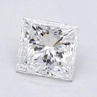 Blue Nile 1.01 克拉公主方形钻石(切割 VG/成色F/净度VS2)