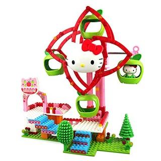 FERSOAR F 烽索 HelloKitty凯蒂猫拼插积木音乐盒  HKM003 乐园摩天轮