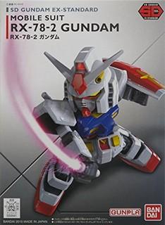 BANDAI 万代 SD EX-STANDARD HGD-202641 RX-78-2 敢达