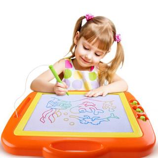 琪趣 8888A 儿童磁性彩色画板(橙色 )