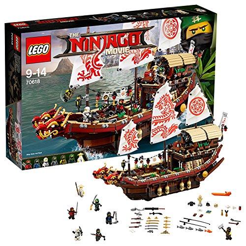 LEGO 乐高 幻影忍者系列  70618 幻影忍者移动基地:命运赏赐号  2295片