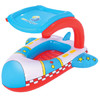 Bestway儿童坐圈水上充气玩具(安全的2气室结构、飞机造型遮阳篷设计)34100 *5件 145元(合29元/件)