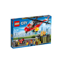 LEGO 乐高 City系列 60108 消防直升机组合 257颗粒