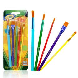 绘儿乐(Crayola)画刷5支装 儿童颜料绘画工具 05-3506 *3件