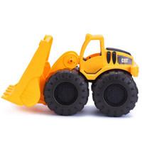 卡特(CAT)装载机挖土机汽车儿童玩具车工程车模型车模沙滩玩具男孩-cat装泥车小号(17cm)82013