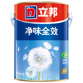 立邦 油漆涂料内墙乳胶漆墙面漆 净味全效 5L