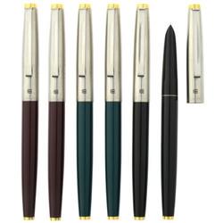 英雄(HERO)钢笔329特细铱金钢笔墨水笔办公学生-6支装