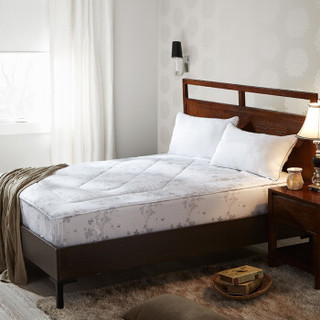 LOVO罗莱生活出品 安睡舒柔双人加大床护垫-诺拉180*200cm *3件