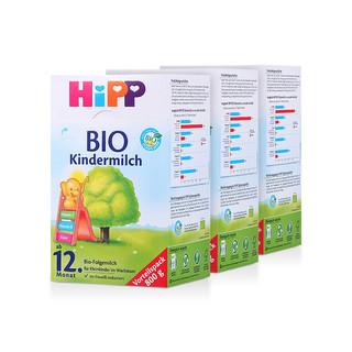 HiPP 喜宝 有机婴儿奶粉 (4段、800g 3盒装)