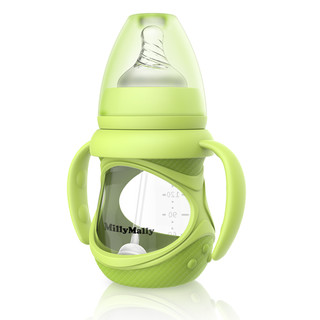 millymally 婴儿玻璃奶瓶 (240mL)